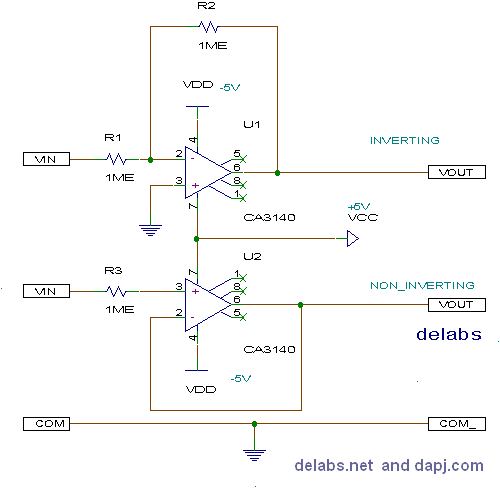 Buffer or Unity Gain Op-Amp