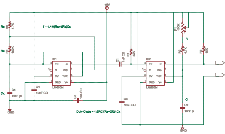 schematics of delabs fixed frequency variable duty cycle simple relay circuit simple relay circuit arduino