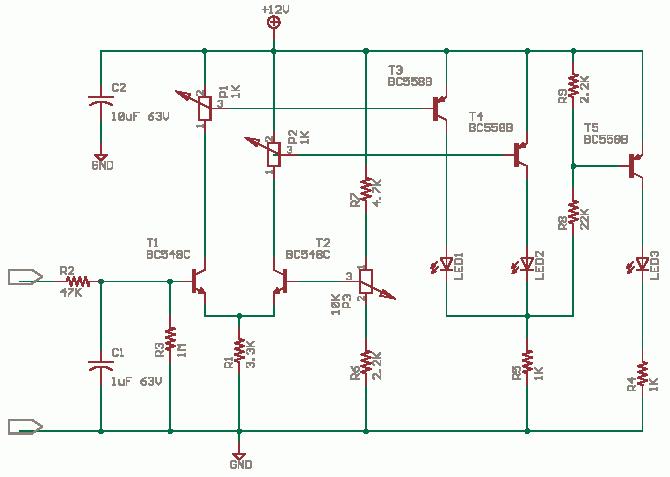 LED Voltage Level Indicator