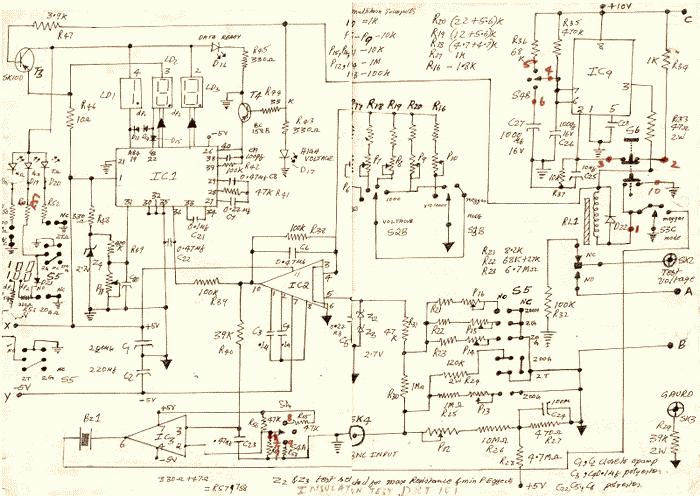 schematics of delabs insulation tester pico amplifier rh schematics dapj com