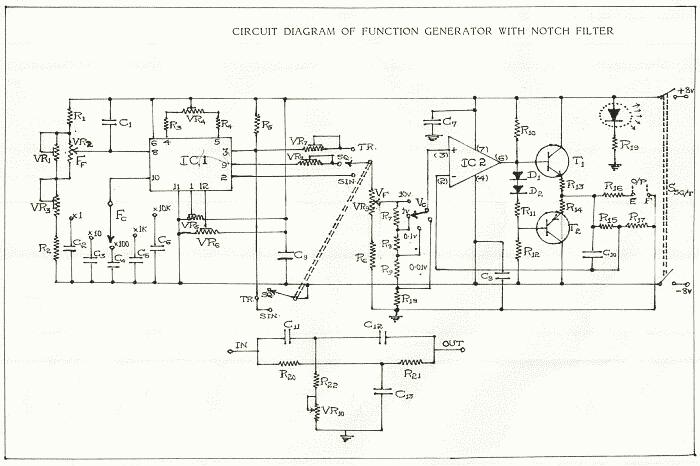 Function Generator using ICL8038