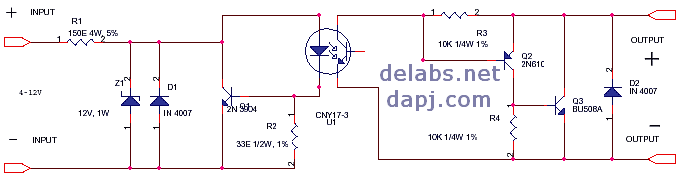 Schematics o... Solid State Relay Diagram