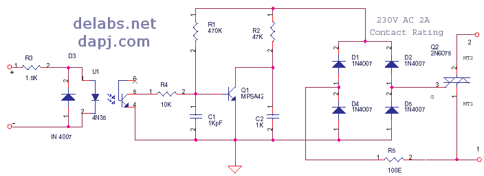 NC Solid State Relay or SSR