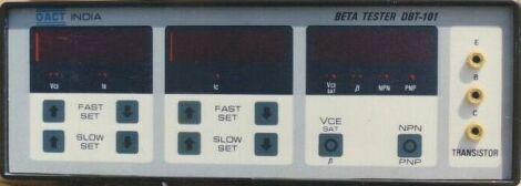 Transistor Beta Tester