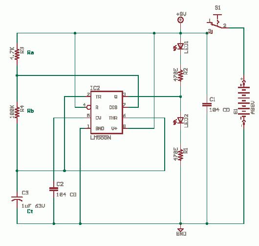 Circuit Diagrams: Astable