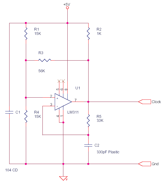 LM311 Square Triangle Oscillator for PWM