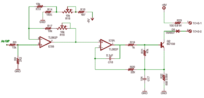 Schematics Of Delabs Circuit Diagrams 0 1v To 4 20 Ma