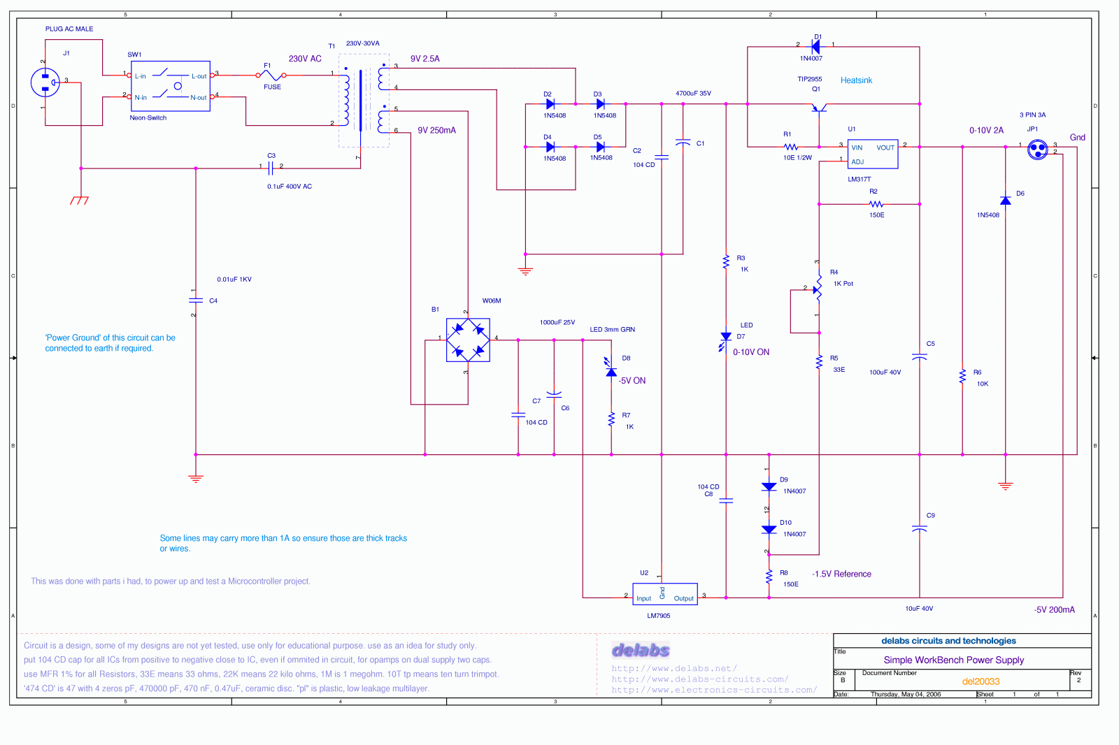 power supplies archives page 3 of 4 delabs schematics rh electronics circuits com High Current Power Supply Circuit Diagram Dual Power Supply Circuit Diagram