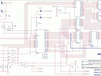 80C39 and MCS48 based Process Controller