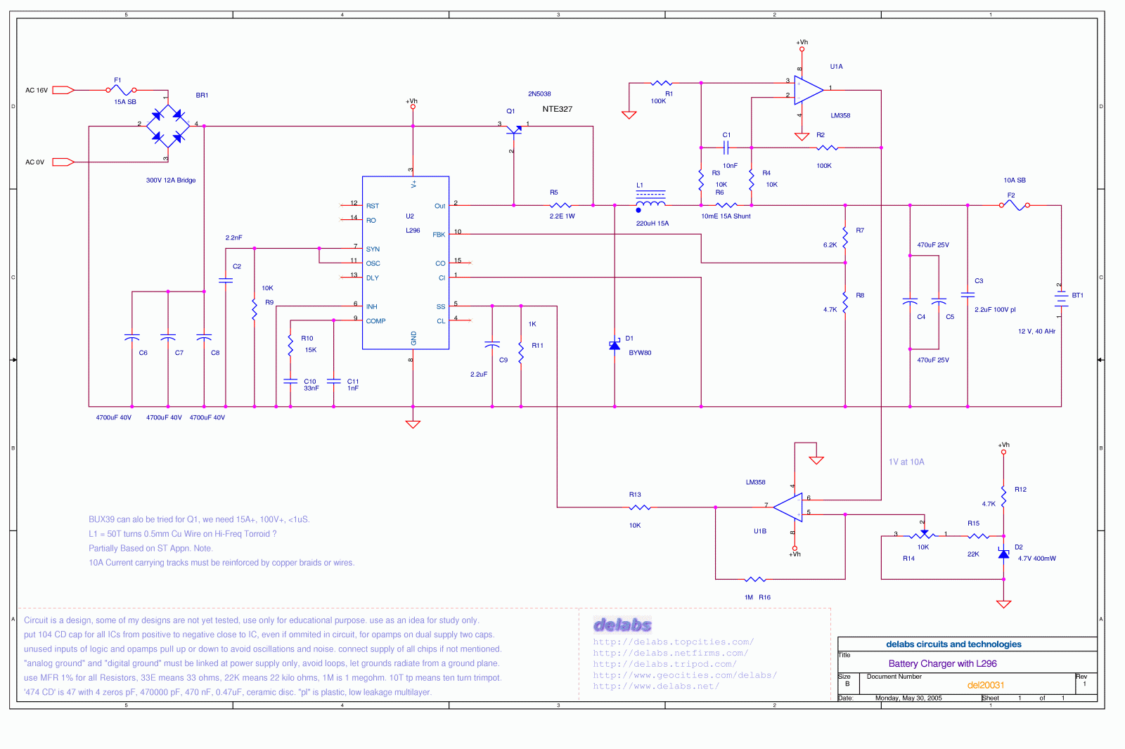 Secret Diagram Topic Smps Circuit Battery Charger Using Scr Delabs Schematics Electronic