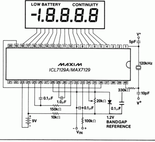 icl7129-circuit