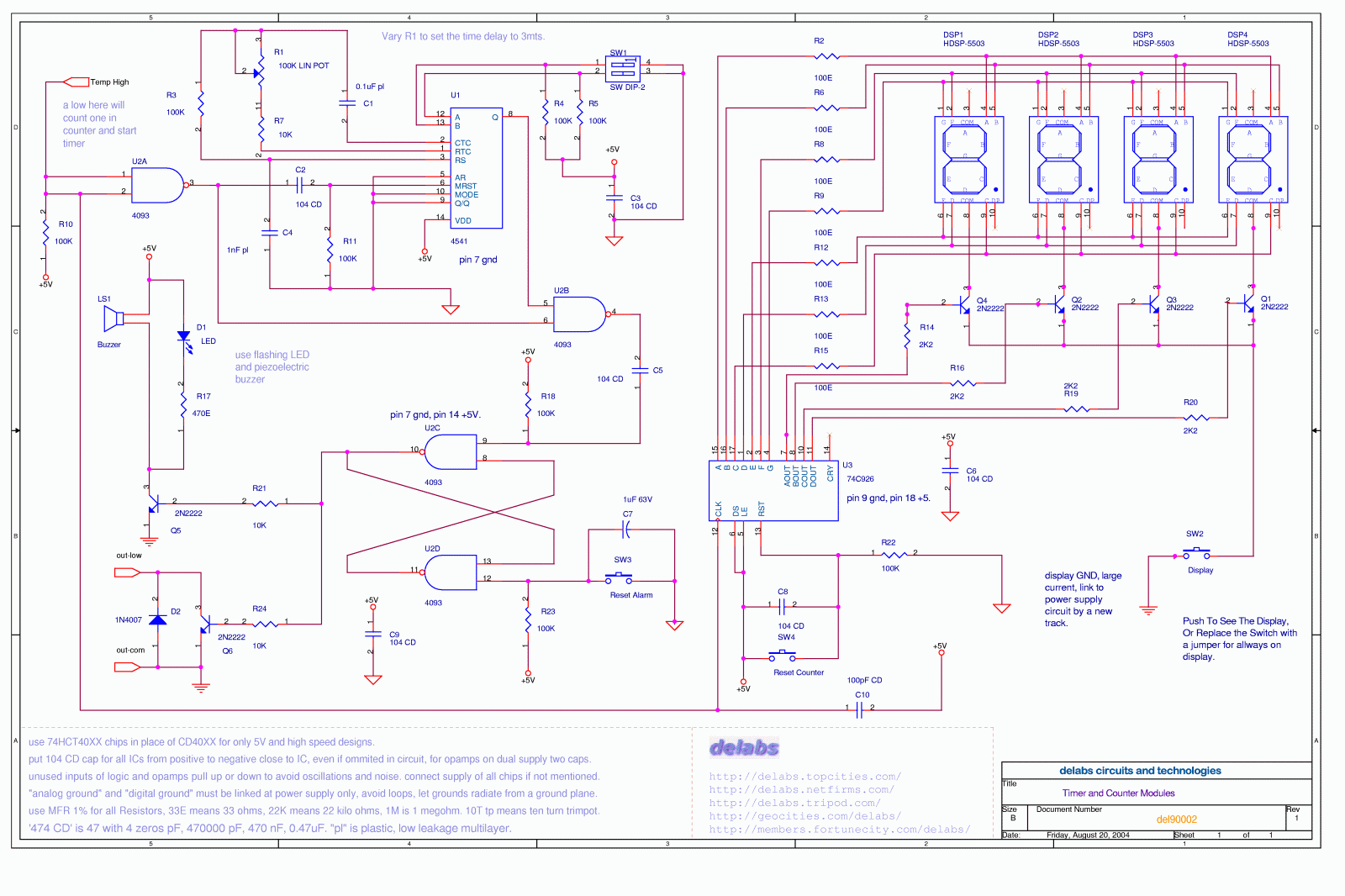 Process Control Page 2 Delabs Schematics Electronic Circuits Basic Triacscr Projects Tutorial