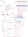 Mains Voltage monitor using LM3914