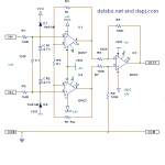 Three Opamp Differential Instrumentation