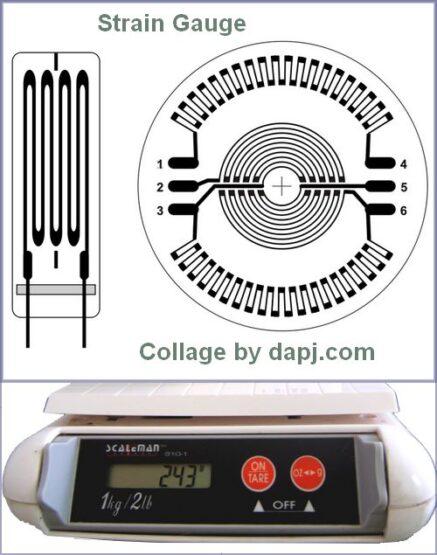 Digital weight Indicator - Strain_gauge